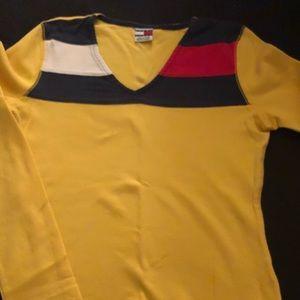 Yellow Tommy Hilfiger Shirt